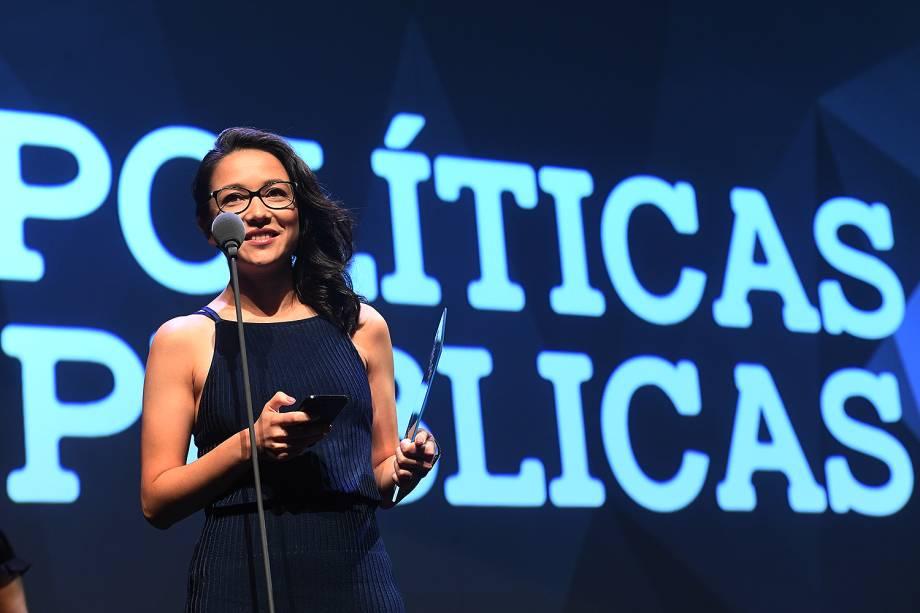 A engenheira e educadora Joice Toyota venceu o Prêmio Veja-se na categoria 'Políticas Públicas'. Ela fundou um projeto que reúne novos talentos para atuar na gestão pública.