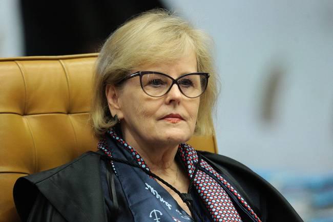 Ministra Rosa Weber durante sessão plenária do STF.