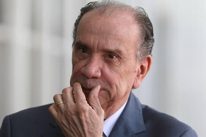 O ministro das Relações Exteriores, Aloysio Nunes Ferreira, no Palácio do Planalto, em Brasília  – 20/12/2017