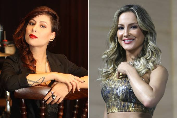 Montagem – Pitty – Claudia Leitte