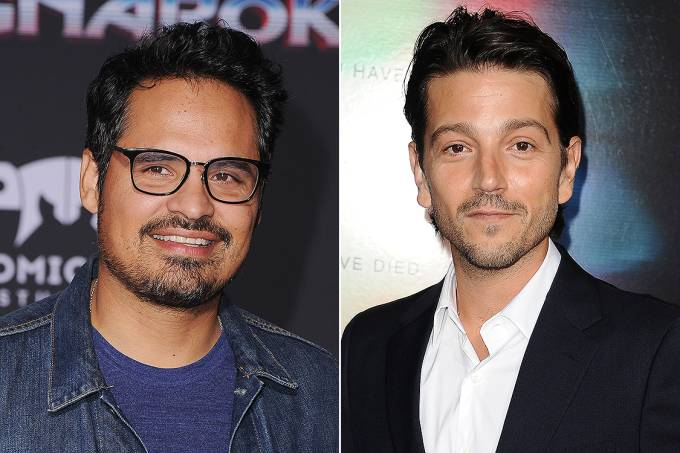 Os atores Michael Peña e Diego Luna