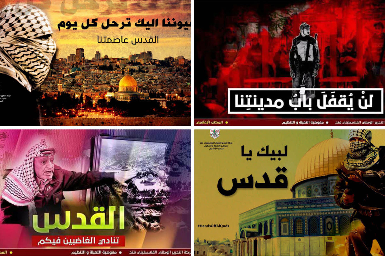 Dia de fúria palestino
