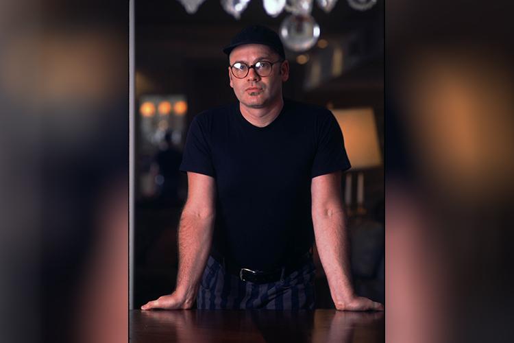 O estilista Ocimar Versolato - 02/06/1995