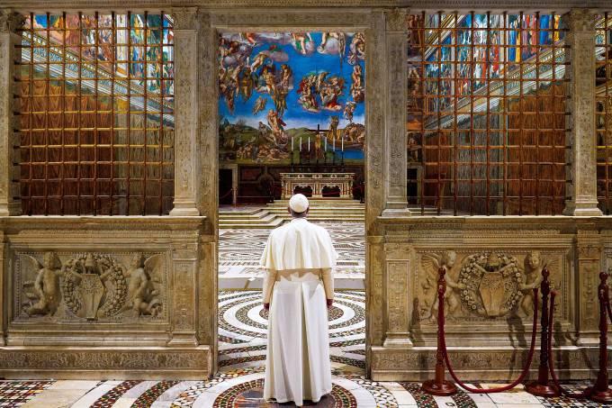 Papa Francisco – Capela Sistina