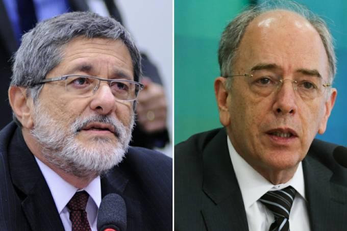 Sérgio Gabrielli e Pedro Parente