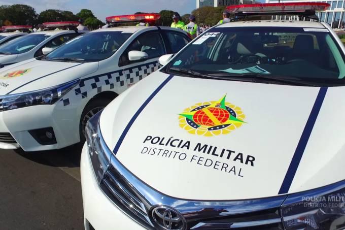 Carro da Polícia Militar do Distrito Federal