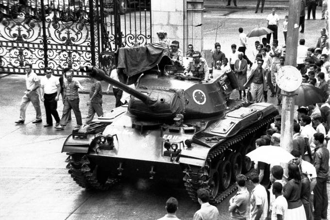 DITADURA MILITAR; GOLPE DE 1964