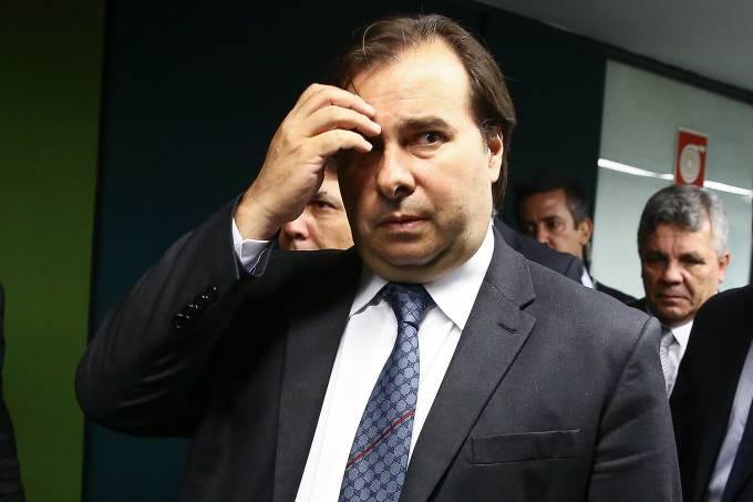 Presidente da Câmara dos Deputados Rodrigo Maia (DEM-RJ)  – 14/12/2017