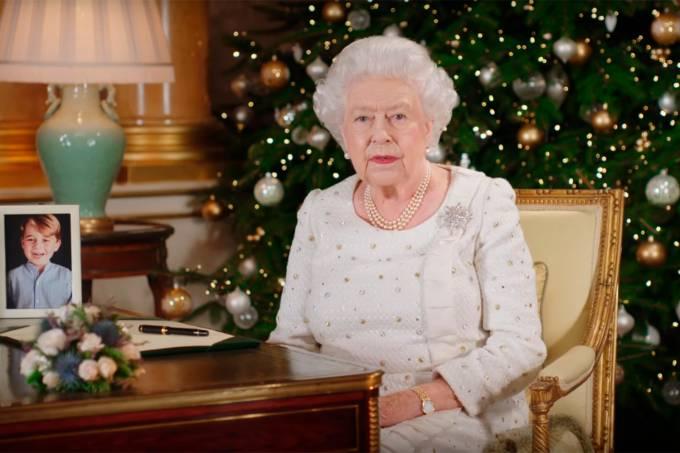 Rainha Elizabeth II em seu discurso de Natal de 2017
