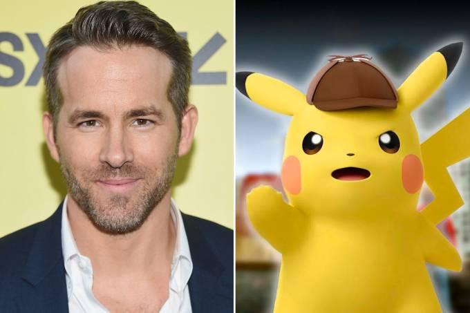 Ryan Reynolds e Detetive Pikachu