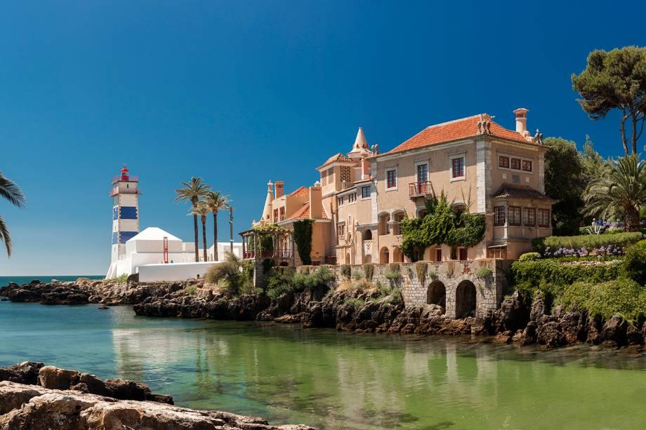 Santa Marta Farol e Museu Municipal de Cascais, em Portugal