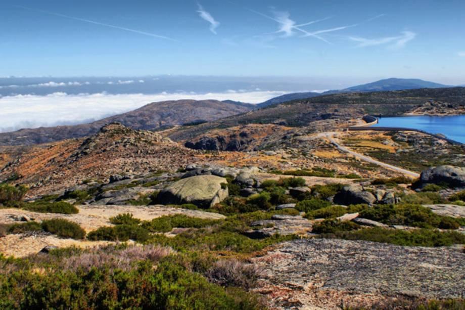 O Parque Natural da Serra da Estrela em Portugal