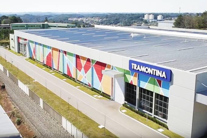 Fábrica da Tramontina na cidade de Farroupilha (RS)