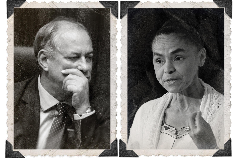 PDT e REDE -Ciro Gomes e Marina Silva