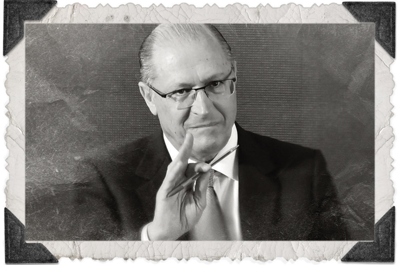 O governador Alckmin