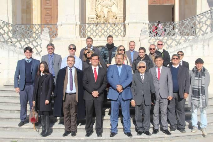 Juiz Sergio Moro e professores de curso de Coimbra
