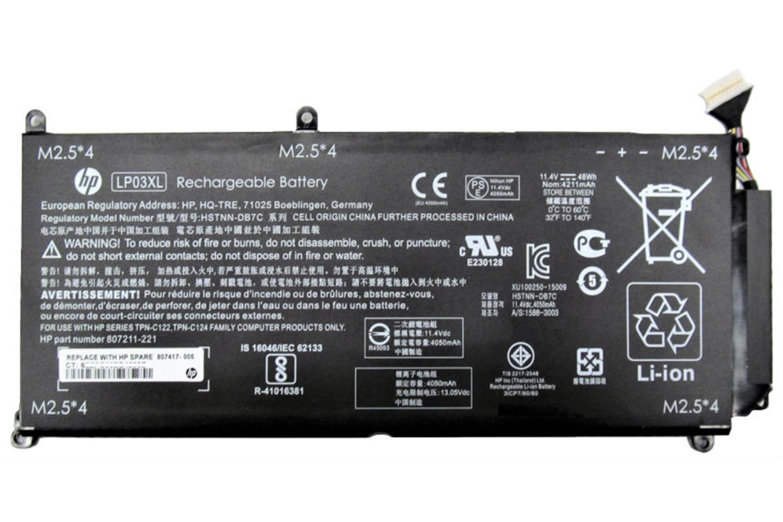 Bateria notebook HP