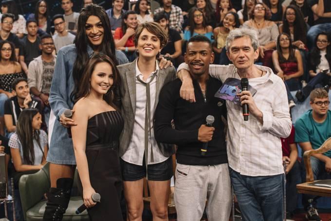 'Altas Horas' recebe Pabllo Vittar, Larissa Manoela, Carol Duarte e Nego do Borel