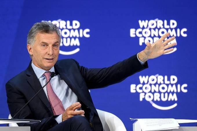 Macri, Argentina, Davos,