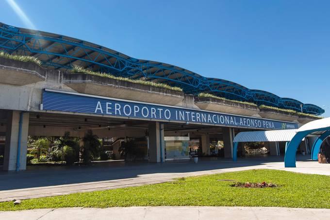 Aeroporto Internacional Afonso Pena, na Grande Curitiba