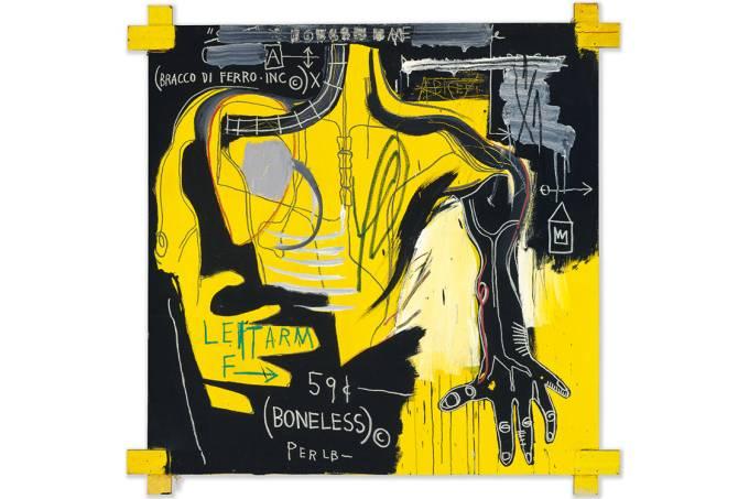 Ouro negro – A tela Sem Título (Bracco di Ferro), feita por Basquiat em 1983: de grafiteiro a autor de obras milionárias