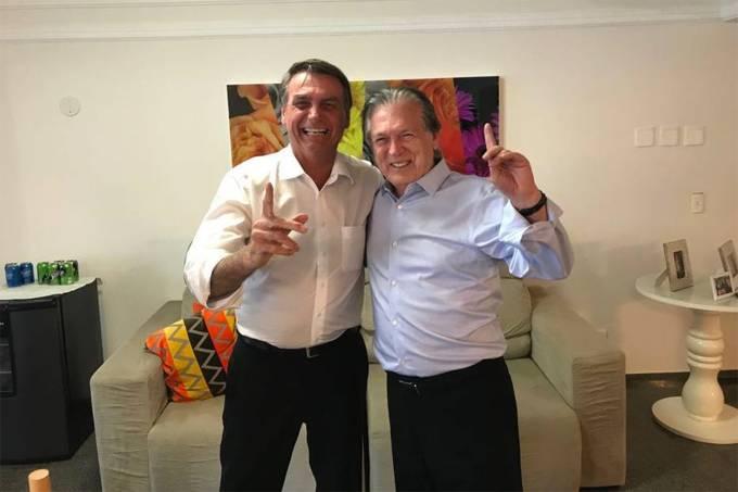 Jair Bolsonaro e Luciano Bivar