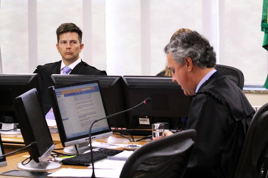 Sessão de julgamento do ex-presidente Lula no TRF4 (Tribunal Regional Federal da 4ª Região), em Porto Alegre (RS) - 24/01/2018