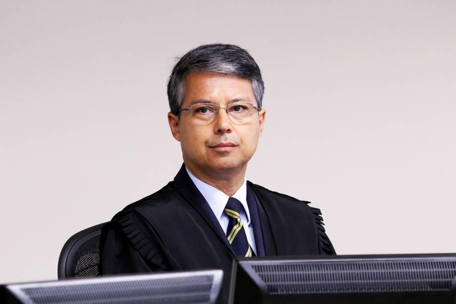 O desembargador Victor Laus, durante a sessão de julgamento do ex-presidente Lula no TRF-4 (Tribunal Regional Federal da 4ª Região), em Porto Alegre (RS) - 24/01/2018