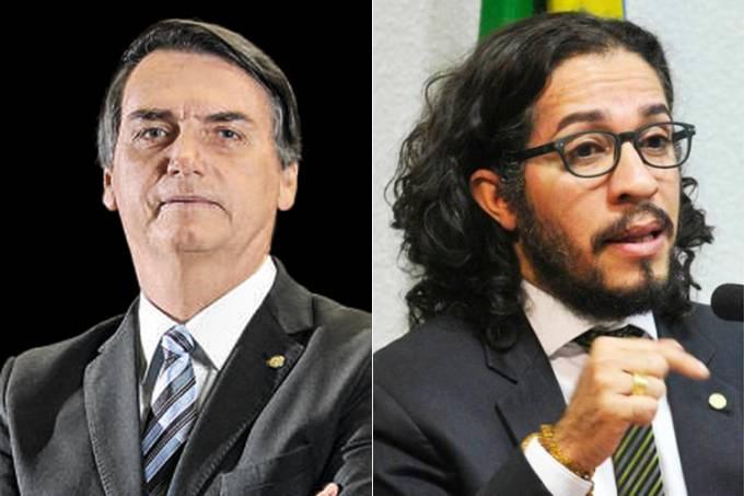 Jair Bolsonaro e Jean Wyllys