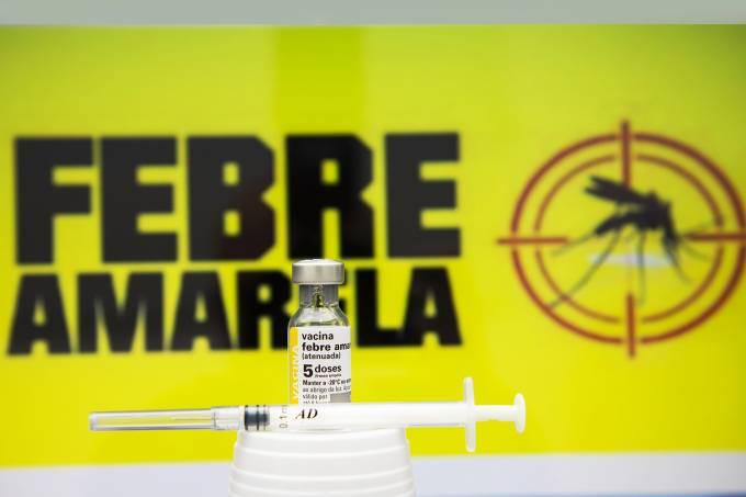 Vacinação contra a febre amarela no Rio de Janeiro