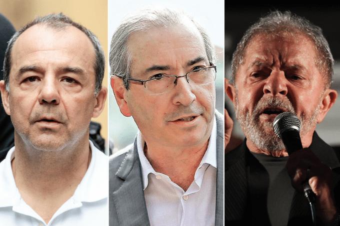 Cabral, Cunha e Lula