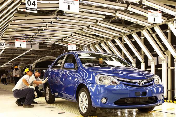Fábrica da Toyota