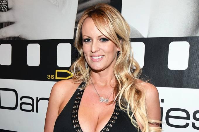 A atriz pornô Stephanie Clifford –  Stormy Daniels