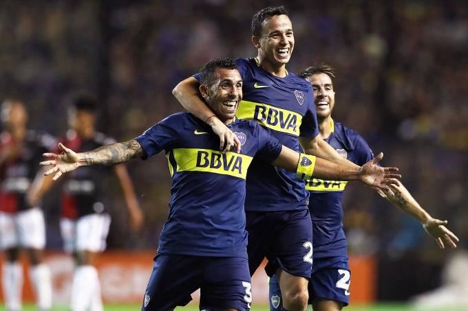 Tévez reestreia no Boca Juniors