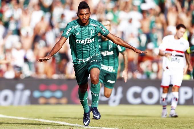Campeonato Paulista: Palmeiras x Botafogo-SP – Miguel Borja