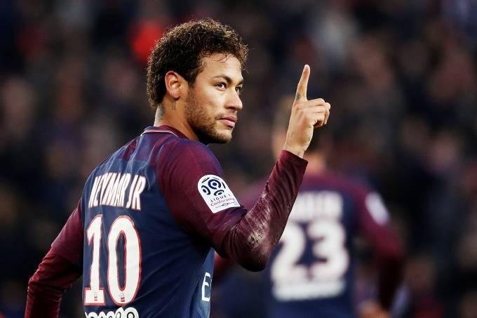 Campeonato Francês – PSG x Montpellier – Neymar