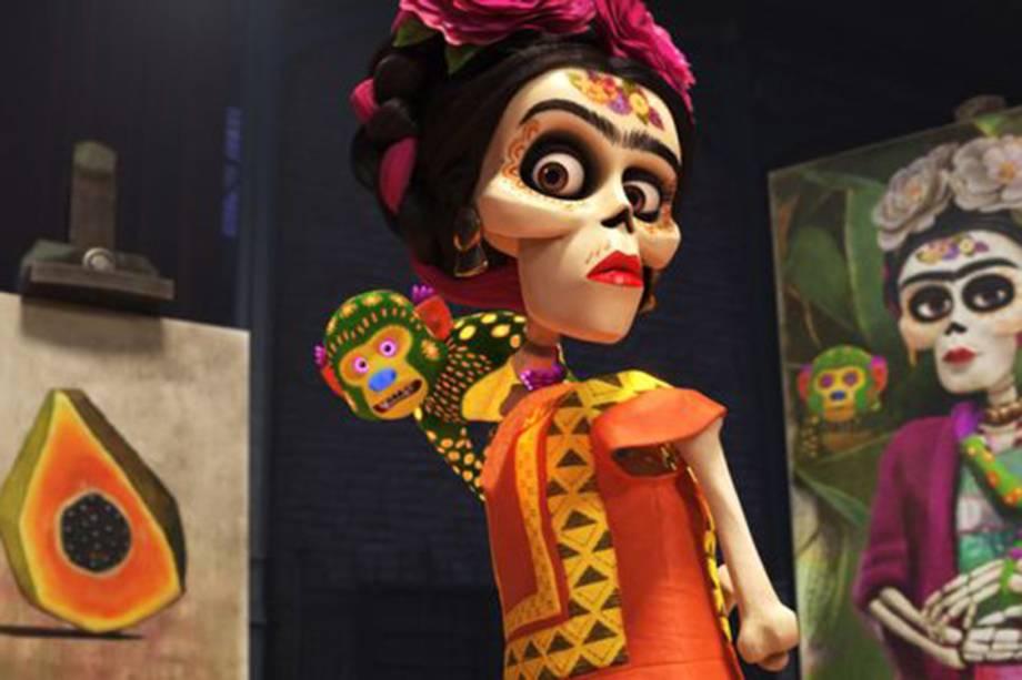 Frida Kahlo tem participação especial em 'Viva - A Vida É uma Festa'