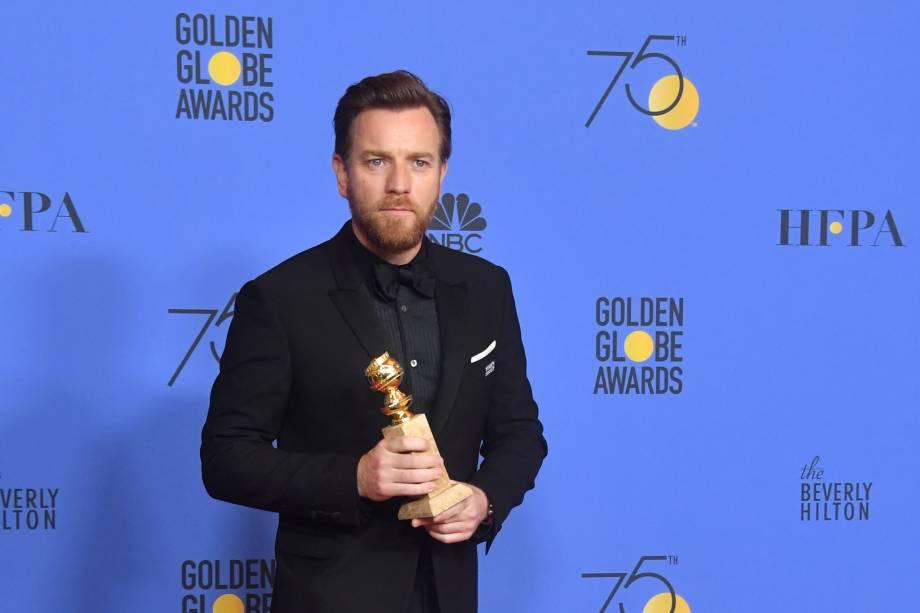 Ewan McGregor vence Melhor Ator em Minissérie ou Filme para TV por Fargo