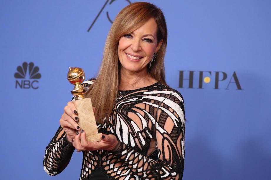 Allison Janney vence Melhor Atriz Coadjuvante de Filme por 'Eu, Tonya'