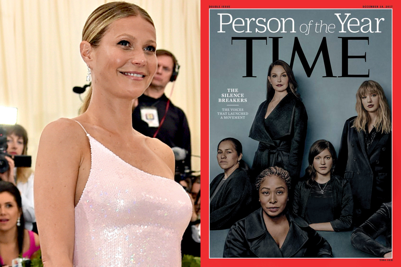 Gwyneth Paltrow e a capa da Time
