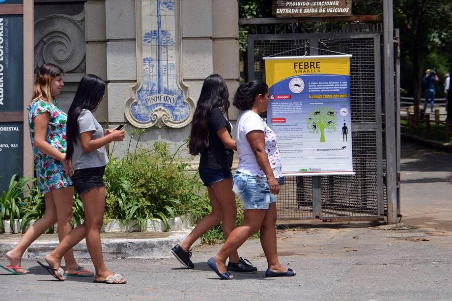 São Paulo reabre Horto Florestal após campanha de vacinação