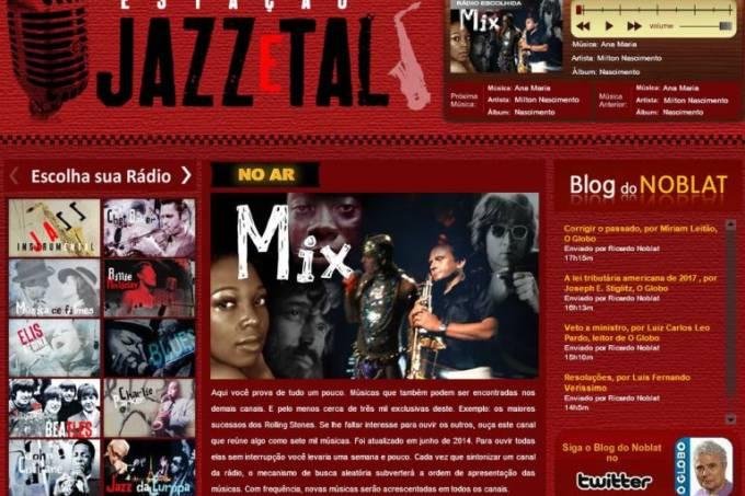 Rádio Jazz e Tal, capa