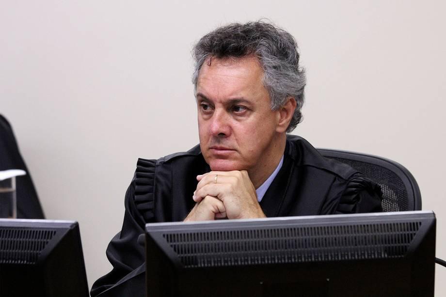 Desembargador João Pedro Gebran Neto no julgamento de recursos da Lava Jato na 8ª Turma do TRF4 - 24/01/2018