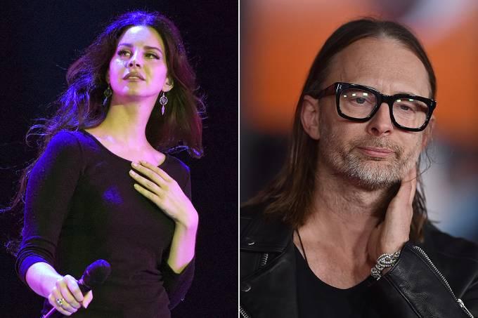 Lana Del Rey e Thom Yorke