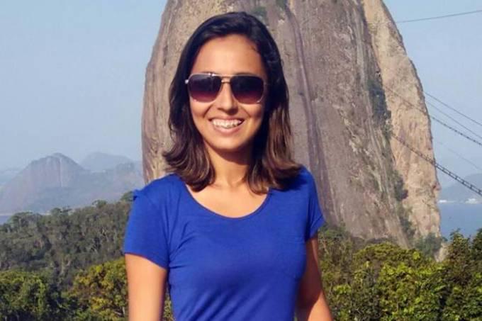 A estudante Larisse Isídio da Silva