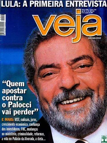 Em sua primeira entrevista exclusiva a VEJA após assumir o Congresso, Lula comenta os planos de seu governo e a batalha para aprovar medidas impopulares. Em destaque na edição de agosto de 2003, ele defende o ministro Antonio Palocci, na época, homem de confiança do PT.
