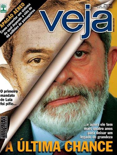 Lula estampa a capa de VEJA em novembro de 2006, ano em que driblou o escândalo do Mensalão, esquema de compra de apoio político, e se reelegeu. Em meio ao caos, o PT perdeu seu homem-forte, o ministro da Casa Civil, José Dirceu, substituído pela então ministra de Minas e Energias, Dilma Rousseff, após ser apontado como coordenador das operações.