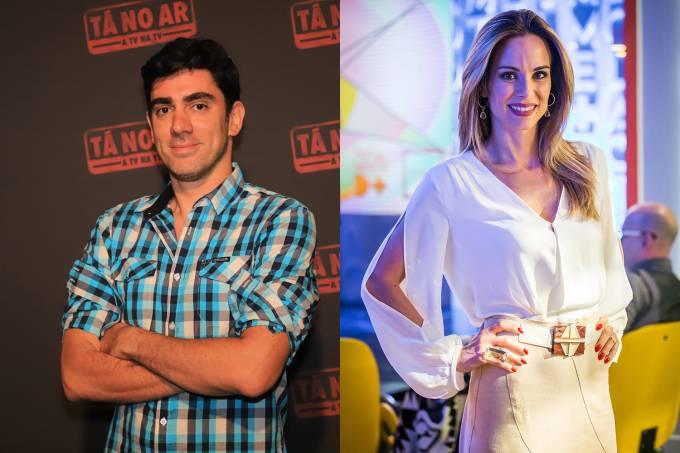 Marcelo Adnet e Ana Furtado