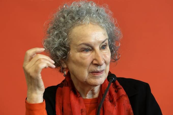 A escritora canadense Margaret Atwood
