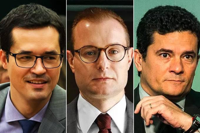 Deltan Dallagnol, Cristiano Zanin Martins e Sérgio moro